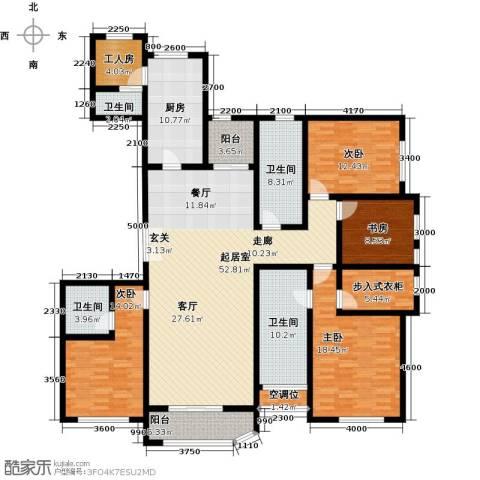 远洋海世纪4室0厅4卫1厨222.00㎡户型图