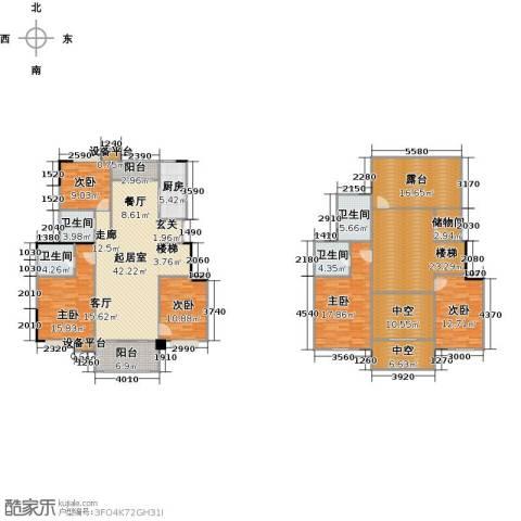 远大生态风景5室0厅4卫1厨274.00㎡户型图
