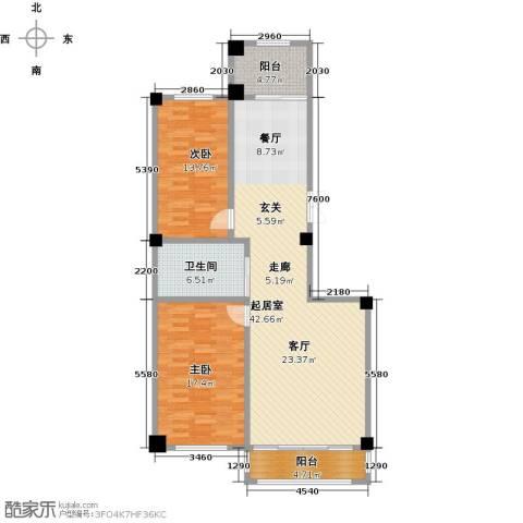 聚隆城尚城2室0厅1卫0厨128.00㎡户型图