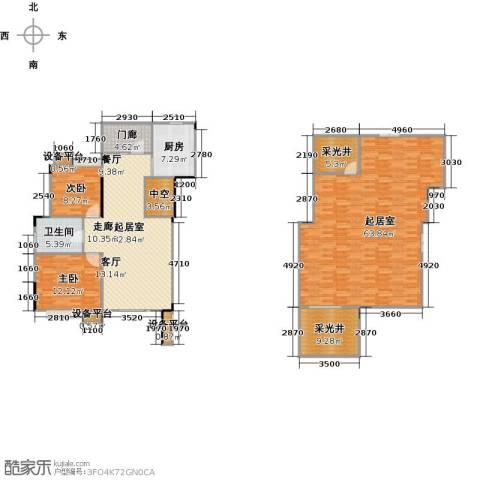 远大生态风景2室0厅1卫1厨205.00㎡户型图