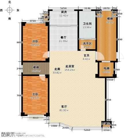 凤鸣郡2室0厅1卫1厨304.00㎡户型图