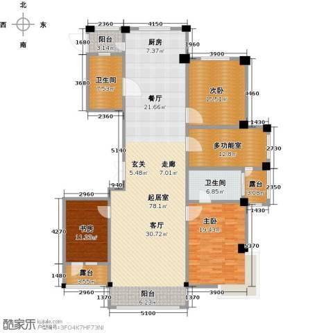 聚隆城尚城3室0厅2卫0厨174.00㎡户型图