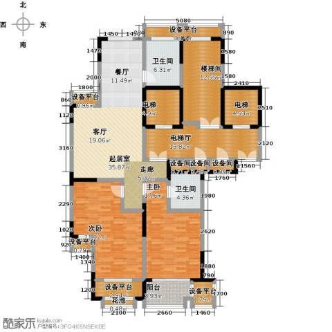 唐宁府2室0厅2卫0厨137.99㎡户型图
