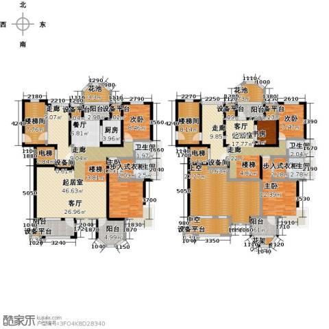 中豪东湖一品5室0厅4卫1厨279.00㎡户型图