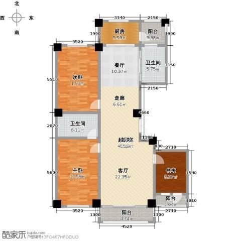 聚隆城尚城3室0厅2卫1厨159.00㎡户型图