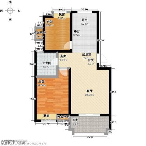 和风丽园2室0厅1卫0厨104.00㎡户型图