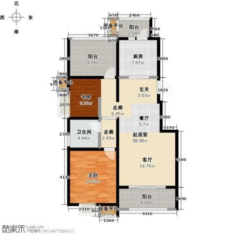 苏公馆1室0厅1卫1厨99.00㎡户型图