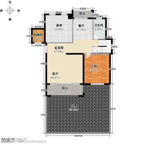 和润香堤1室0厅1卫1厨271.00㎡户型图