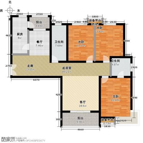 锦绣江南3室0厅2卫1厨180.00㎡户型图