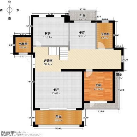 和润香堤1室0厅1卫1厨154.00㎡户型图