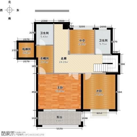 和润香堤2室0厅2卫0厨147.00㎡户型图