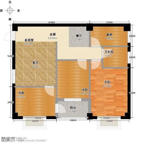 尚城国际3室0厅1卫1厨89.00㎡户型图
