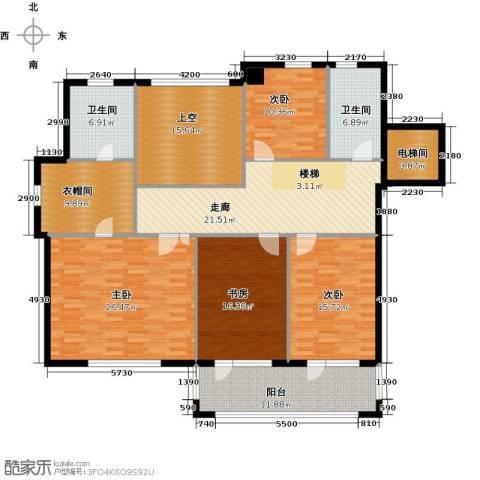 和润香堤4室0厅2卫0厨201.00㎡户型图