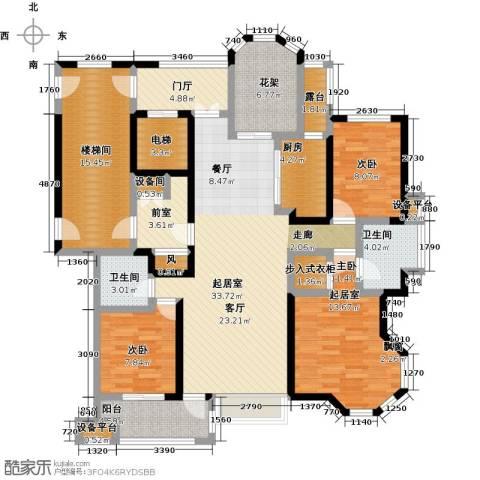 中豪东湖一品2室0厅2卫1厨141.00㎡户型图