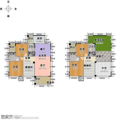 金印豪庭4卫1厨229.00㎡户型图
