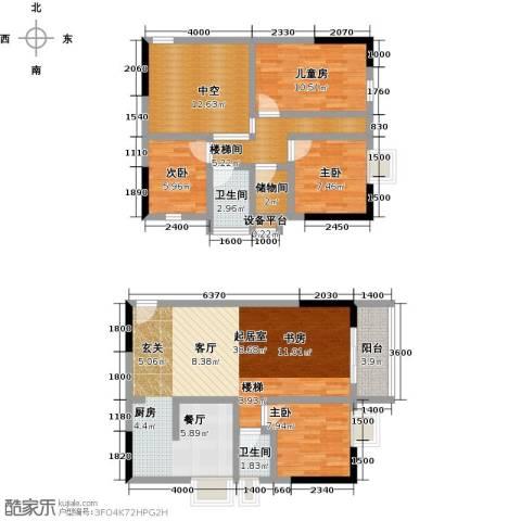 历昌华庭4室0厅2卫0厨99.33㎡户型图