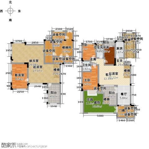 宝龙香槟湖3室0厅2卫1厨142.00㎡户型图