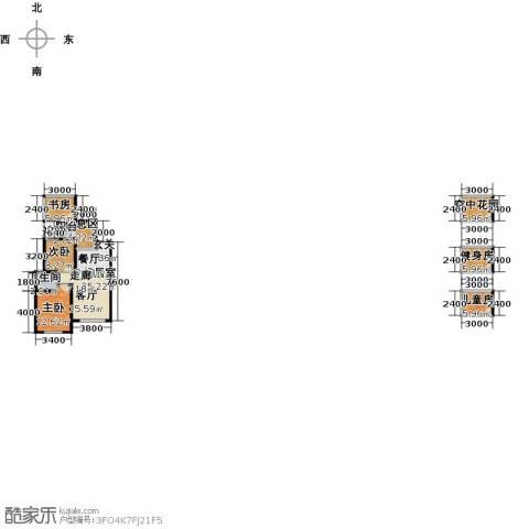 麓城4室0厅1卫0厨93.00㎡户型图