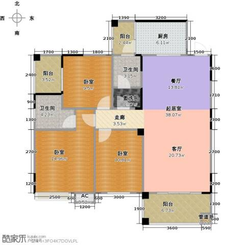 金印豪庭2卫1厨126.00㎡户型图