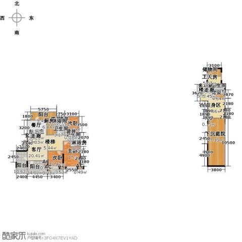 沈阳雅居乐花园3室0厅3卫1厨221.19㎡户型图