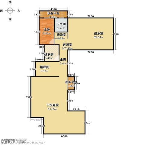 山水龙庭1室0厅1卫0厨176.00㎡户型图