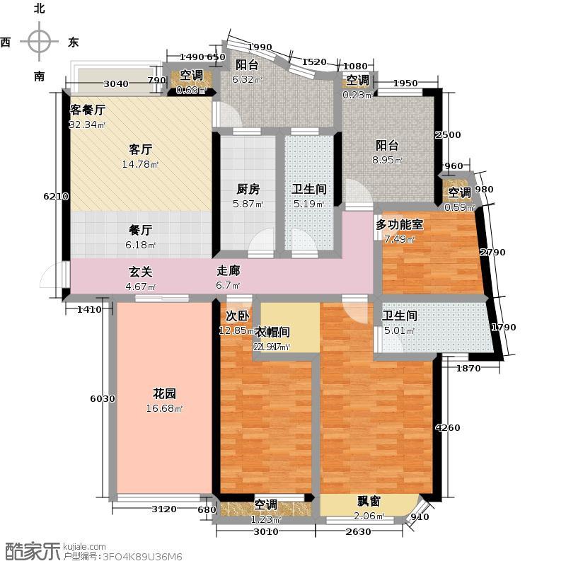 福隆城146.98-149.95户型
