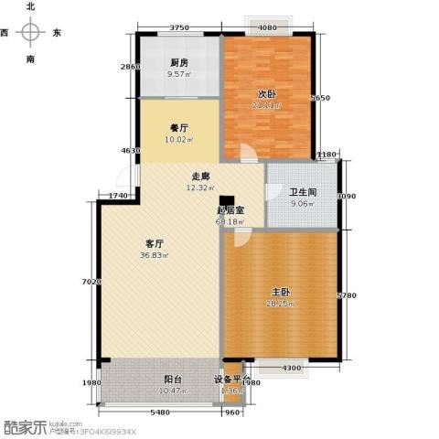 长安祥育苑2室0厅1卫1厨149.00㎡户型图