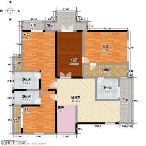 黄金海岸4室0厅3卫0厨248.00㎡户型图