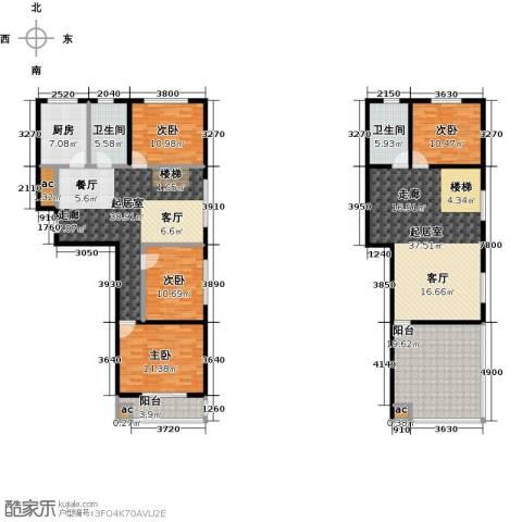 东北MALL4室0厅2卫1厨223.00㎡户型图