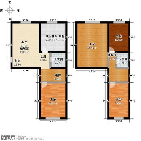 盛和湾3室0厅2卫0厨111.00㎡户型图