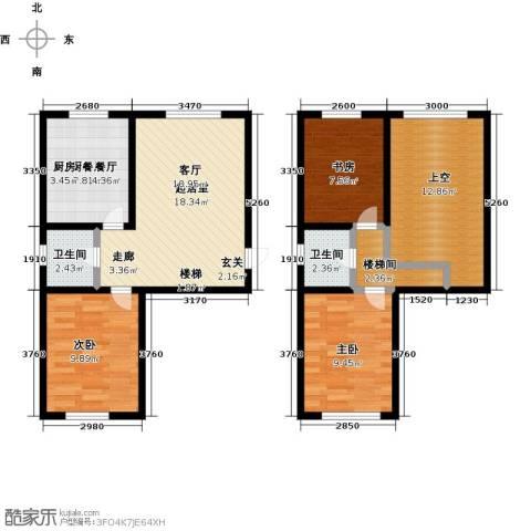 盛和湾3室0厅2卫0厨105.00㎡户型图