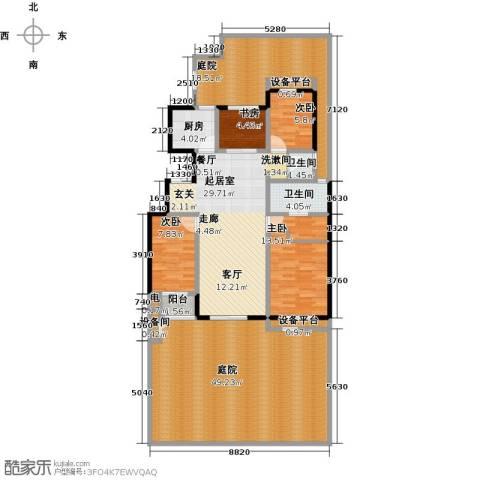 朝阳首府4室0厅2卫1厨162.00㎡户型图