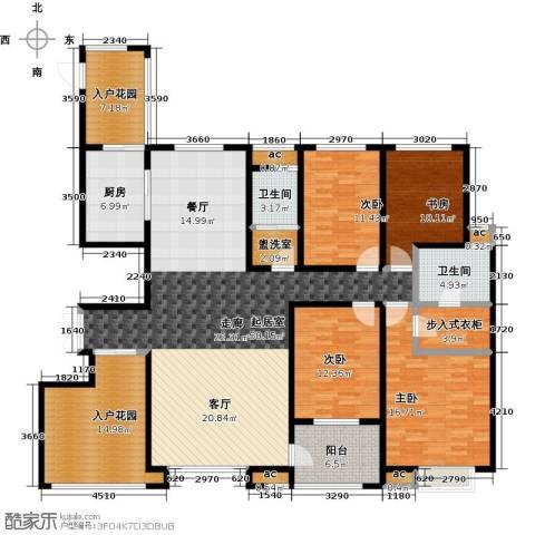 君河湾4室0厅2卫1厨228.00㎡户型图
