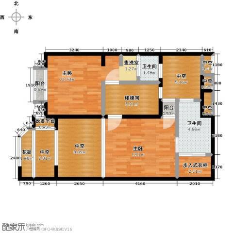 开维生态城2室0厅2卫0厨103.00㎡户型图