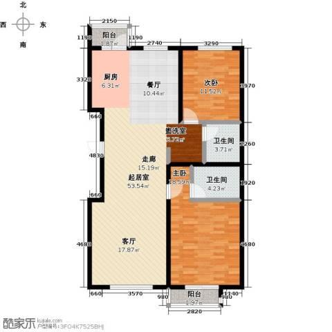 燕云台2室0厅2卫0厨108.00㎡户型图