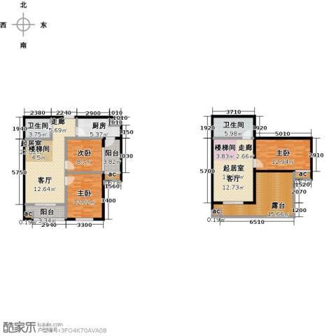 东北MALL3室0厅2卫1厨166.00㎡户型图