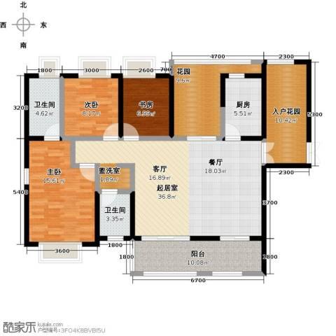 海景城3室0厅2卫1厨132.00㎡户型图