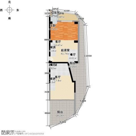 钻石海岸121.18㎡户型图