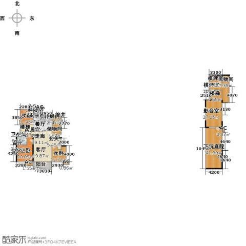 沈阳雅居乐花园3室0厅2卫1厨237.26㎡户型图