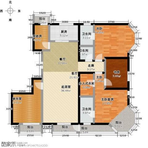 燕云台2室0厅3卫1厨141.00㎡户型图