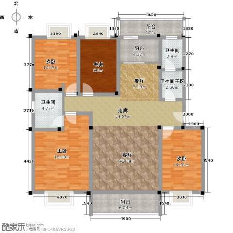 合顺景苑4室1厅2卫0厨170.00㎡户型图