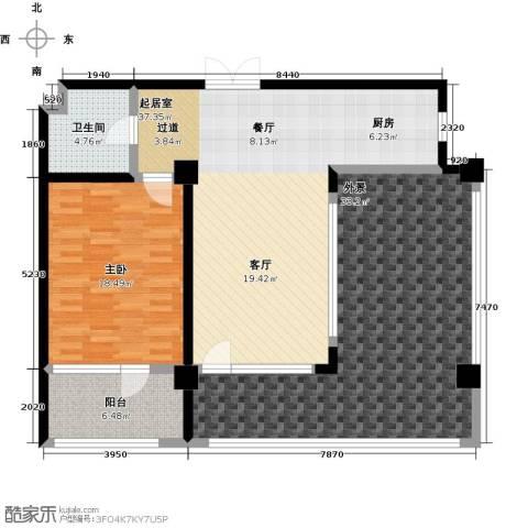 金上汤温泉1室0厅1卫0厨114.00㎡户型图