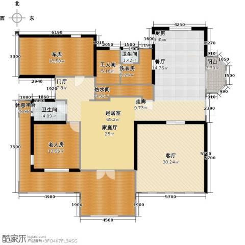 阅湖泊景湾1室1厅2卫0厨247.00㎡户型图