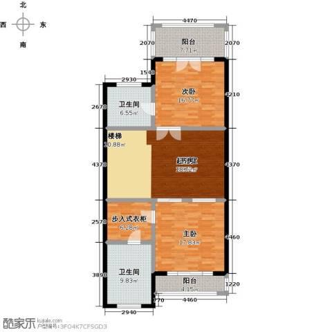 合生伴海2室0厅2卫0厨141.00㎡户型图