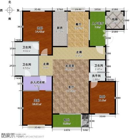 太原香颂3室0厅3卫1厨146.00㎡户型图