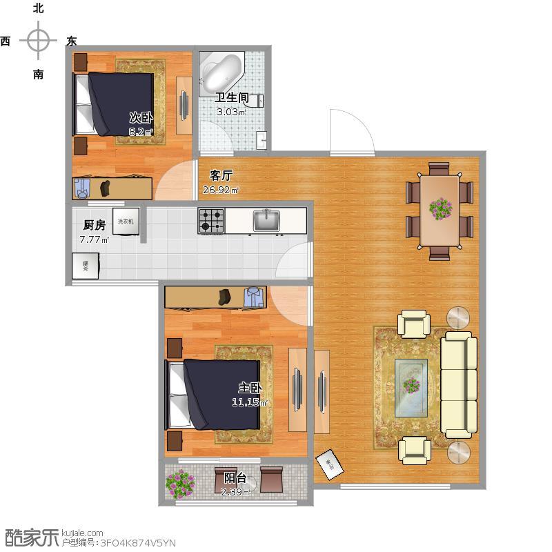 两室两厅-我的小窝