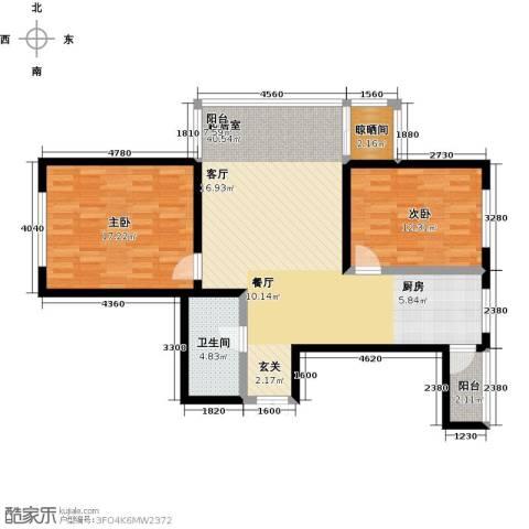 哈尔滨提拉米苏2室0厅1卫0厨112.00㎡户型图