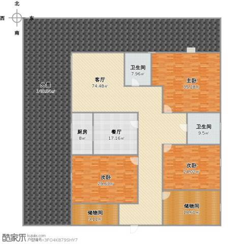 vdzxgvxfbhvxcbh3室2厅2卫1厨489.00㎡户型图
