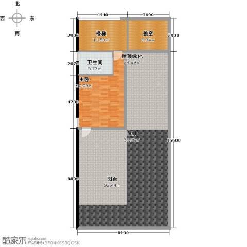 钻石海岸1室0厅1卫0厨188.00㎡户型图
