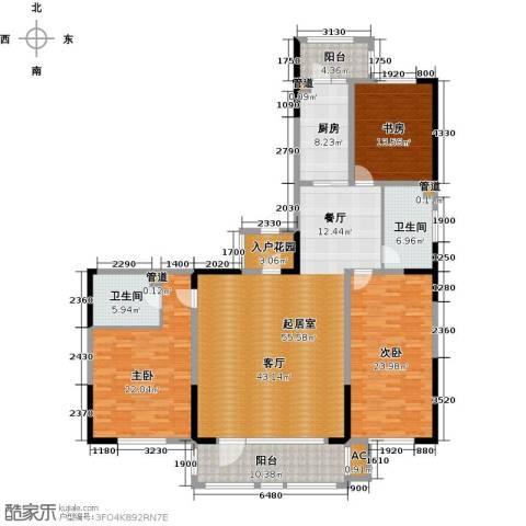好民居康泰嘉园3室0厅2卫1厨181.00㎡户型图